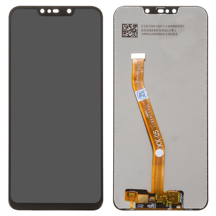 Дисплей для Huawei Nova 3i, P Smart Plus, чорний, із сенсорним екраном, Original (PRC), self-welded